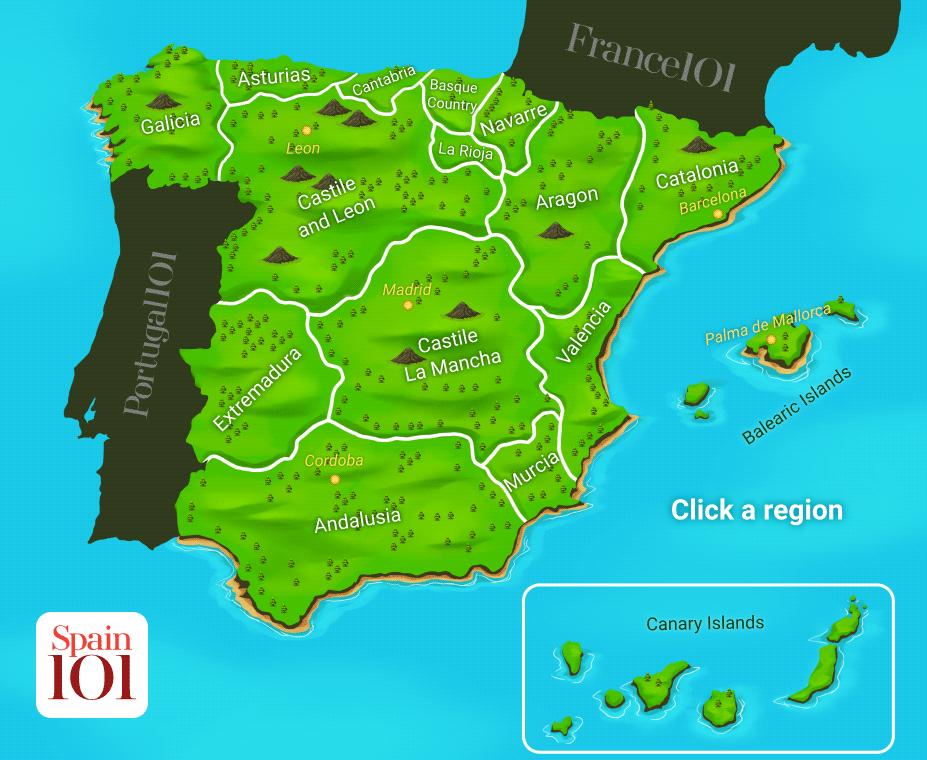 Spain-map