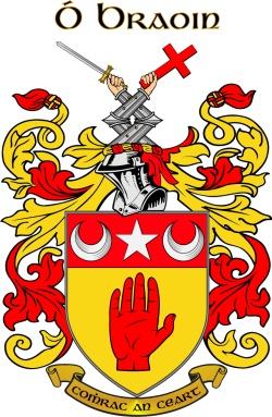 Breen family crest