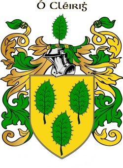 CLEARY family crest