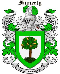 FINNERTY family crest