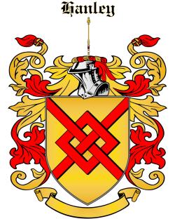 HANLEY family crest