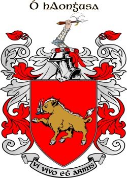 HENNESSY family crest