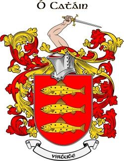 KANE family crest