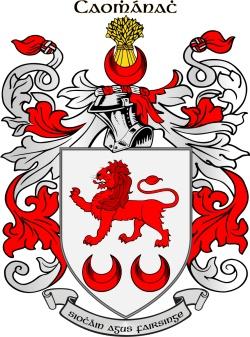 KAVANAGH family crest