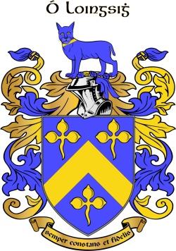LYNCH family crest
