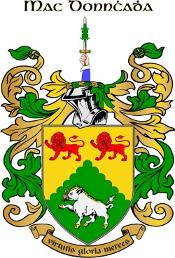 MCDONAGH family crest