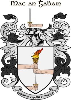 MCGOWAN family crest
