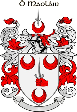 MULLINS family crest