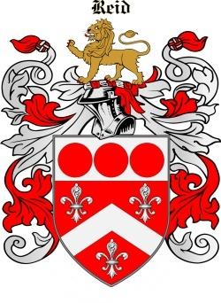 REID family crest