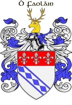 WHELAN family crest